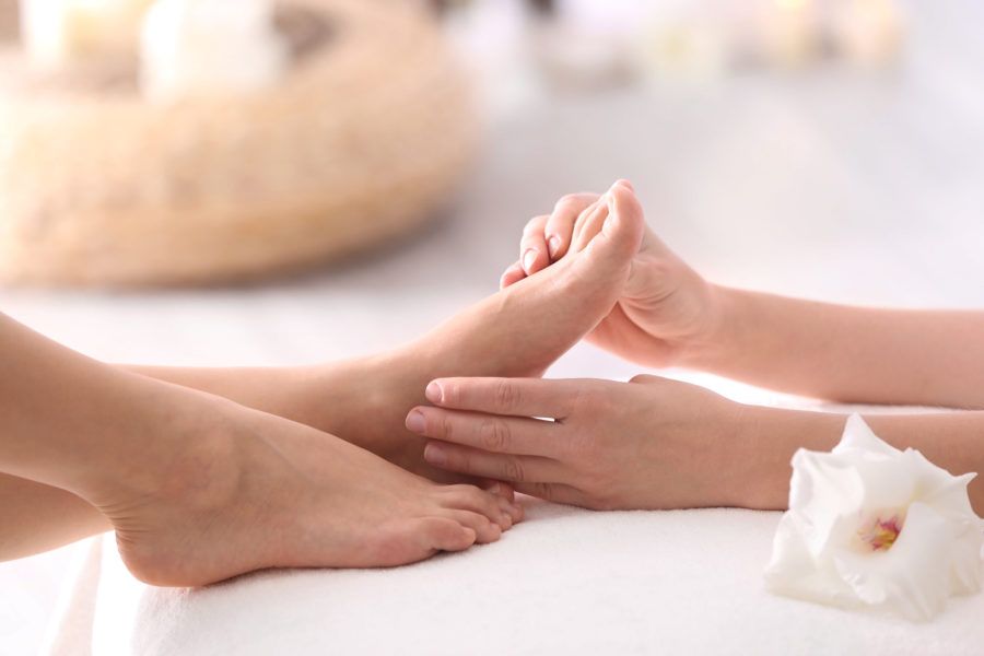Vital-Punkt-Fußmassage