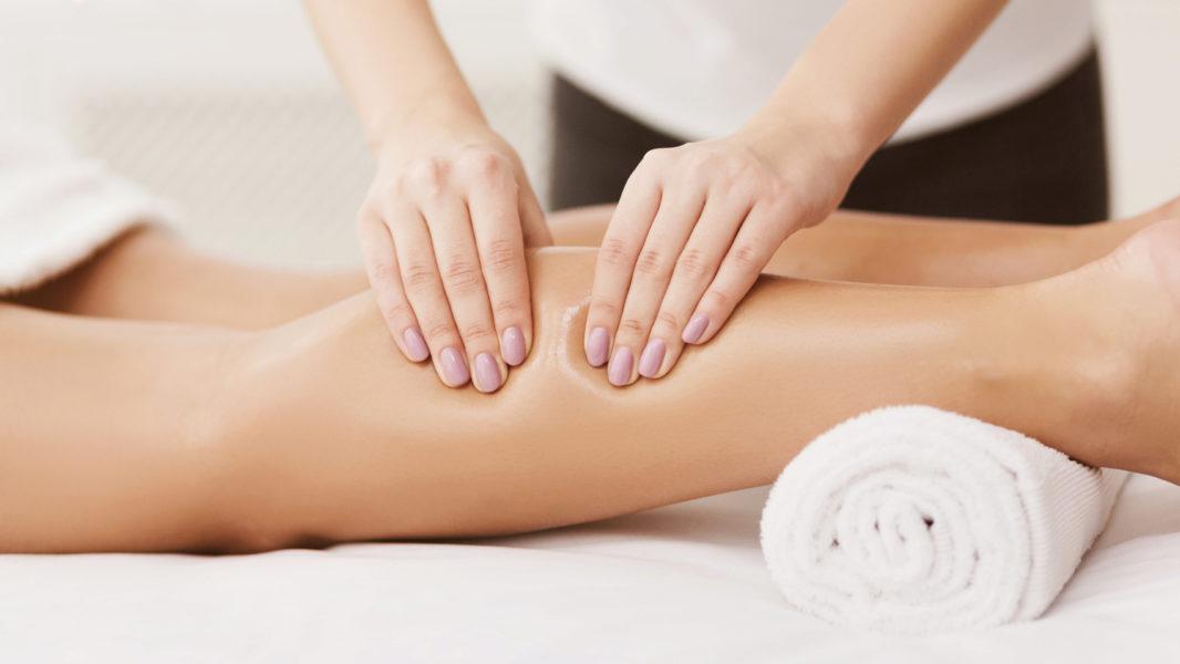 Rücken-Bein-Massage