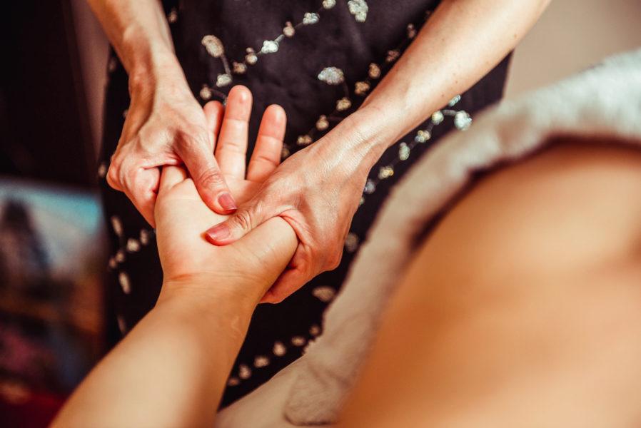 Vtialpunkt-Massage